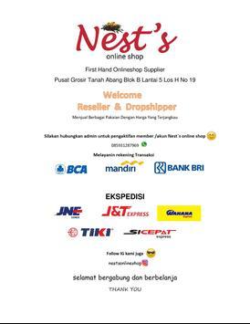 Nests Tanah Abang poster