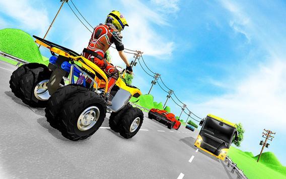 Quad ATV Traffic Racer screenshot 14