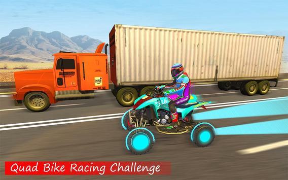 Quad ATV Traffic Racer screenshot 2