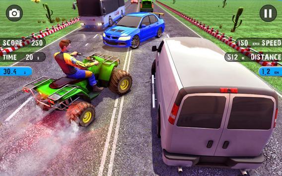 Quad ATV Traffic Racer screenshot 1