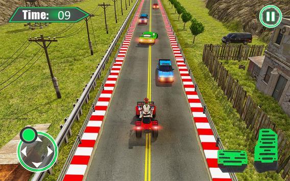 Quad ATV Traffic Racer screenshot 7