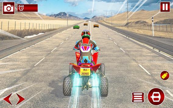 Quad ATV Traffic Racer screenshot 11