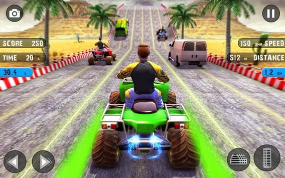 Quad ATV Traffic Racer screenshot 8