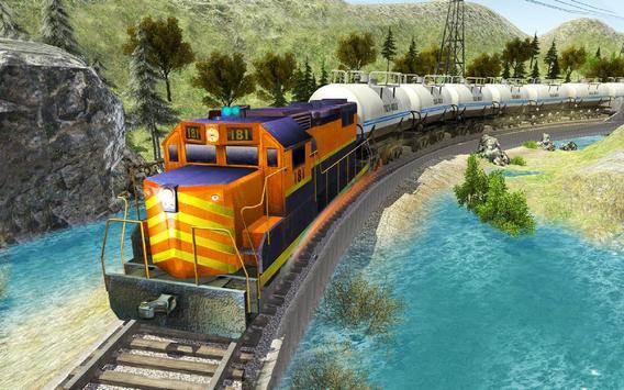 محاكي قطار النفط: ألعاب قطار مجانية 2021 تصوير الشاشة 3