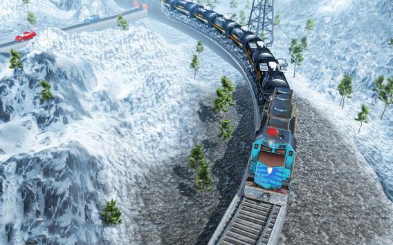 محاكي قطار النفط: ألعاب قطار مجانية 2021 تصوير الشاشة 5