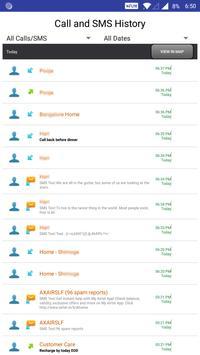 Message and Call Tracker screenshot 1
