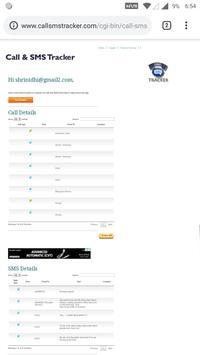 Message and Call Tracker screenshot 2