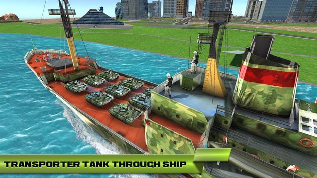US Army Car Transport Cruise Ship Simulator 2019 poster