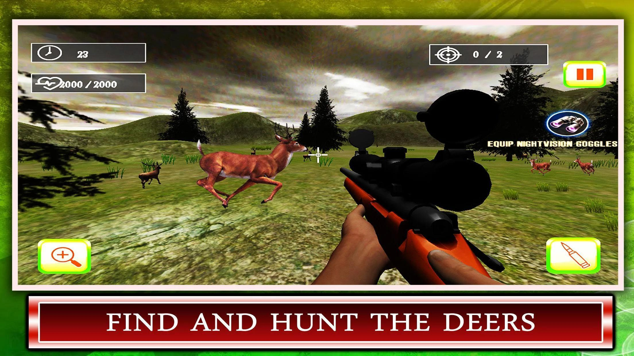 Big Buck Deer Hunter Challenge - Crossbow Hunting for