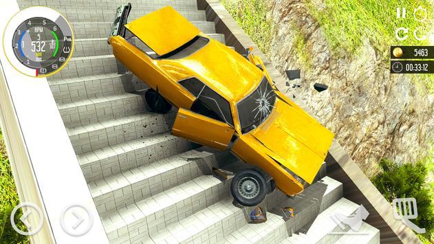 Beam Drive Car Crash Simulator 2021: Death Ramp screenshot 7