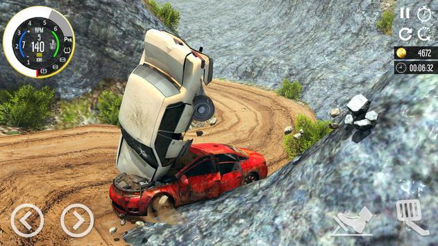 Beam Drive Car Crash Simulator 2021: Death Ramp screenshot 10