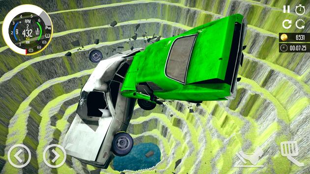 Beam Drive Car Crash Simulator 2021: Death Ramp screenshot 14