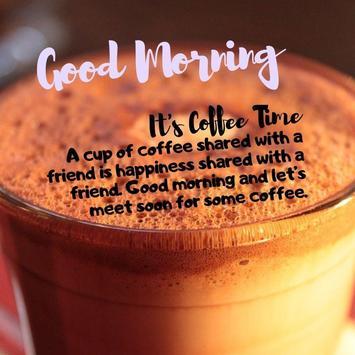 Good Morning Coffee Quotes screenshot 1