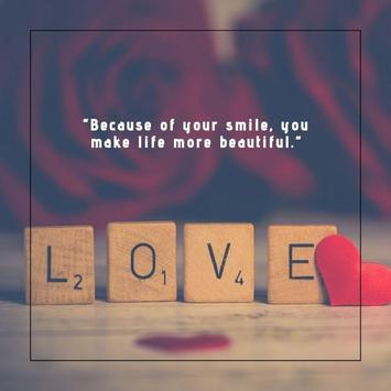 Smile - Inspirational Quotes poster