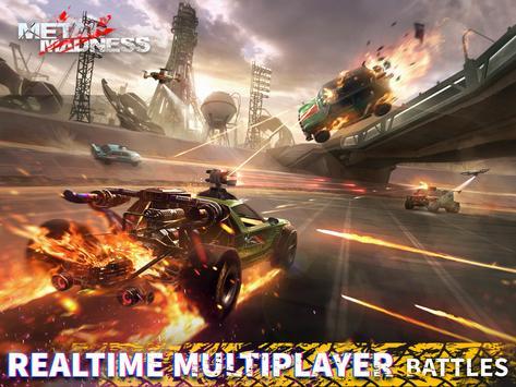 METAL MADNESS PvP: Online Shooter Arena 3D Action screenshot 16