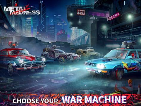 METAL MADNESS PvP: acción online juego de disparos imagem de tela 11