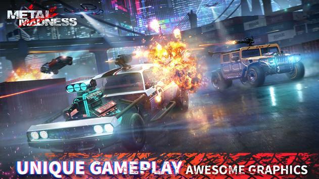 METAL MADNESS PvP: acción online juego de disparos imagem de tela 1