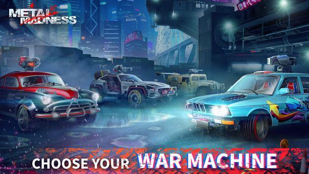 METAL MADNESS PvP: acción online juego de disparos imagem de tela 3
