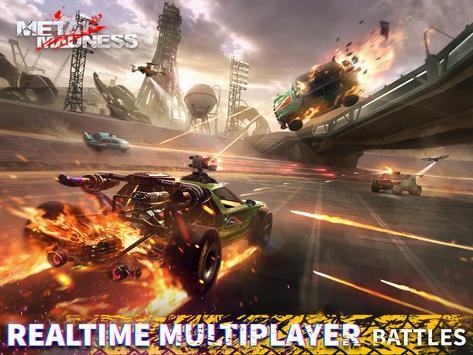 METAL MADNESS PvP: acción online juego de disparos imagem de tela 7