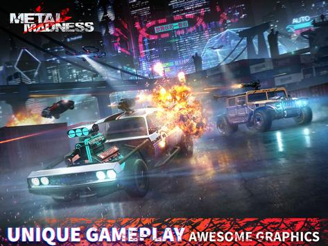 METAL MADNESS PvP: acción online juego de disparos imagem de tela 8