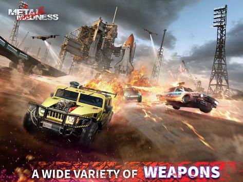 METAL MADNESS PvP: acción online juego de disparos imagem de tela 9