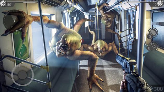 Underground 2077: ZOMBIE SHOOTER تصوير الشاشة 17