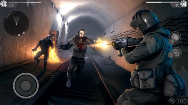 Underground 2077: ZOMBIE SHOOTER تصوير الشاشة 4