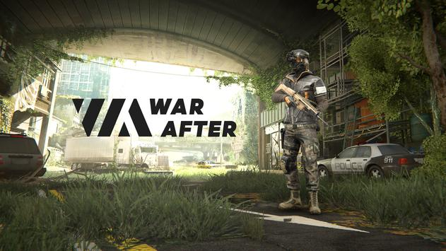 War After: PvP action shooter 2021 (Open Beta) poster