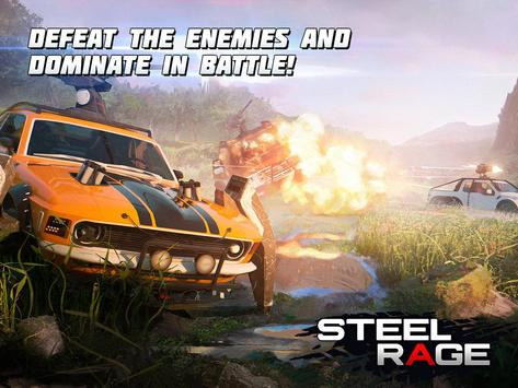 Steel Rage: Robot Cars PvP Shooter Warfare screenshot 11