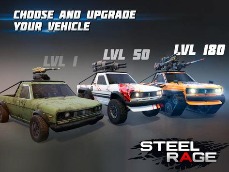 Steel Rage: Robot Cars PvP Shooter Warfare screenshot 13