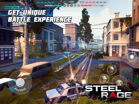 Steel Rage: Robot Cars PvP Shooter Warfare screenshot 14