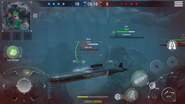 WORLD of SUBMARINES: Navy PvP ảnh chụp màn hình 2