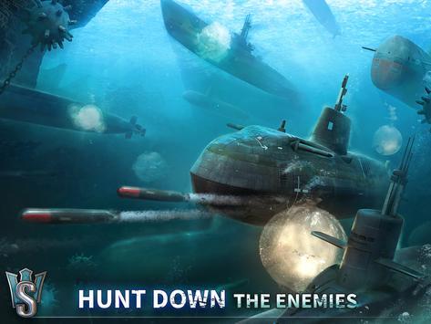 WORLD of SUBMARINES: Navy PvP ảnh chụp màn hình 14