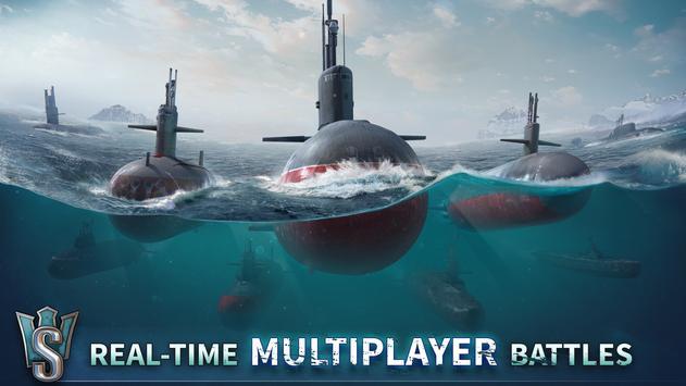 WORLD of SUBMARINES: Navy PvP ảnh chụp màn hình 3