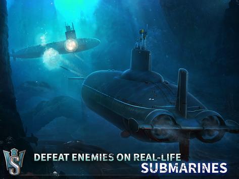 WORLD of SUBMARINES: Navy PvP ảnh chụp màn hình 20
