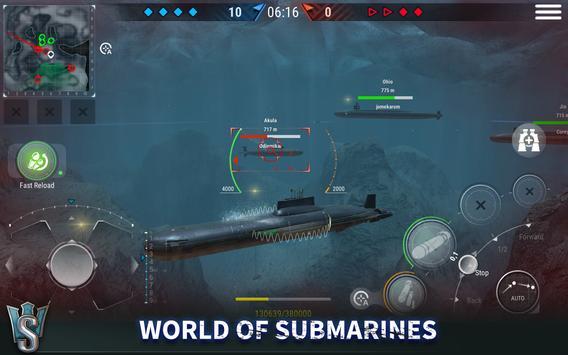 WORLD of SUBMARINES: Navy PvP ảnh chụp màn hình 10