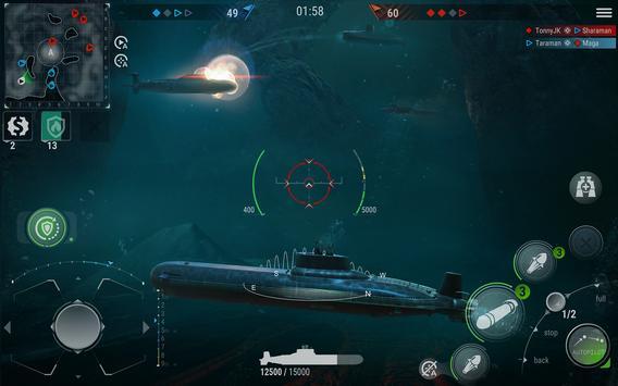 WORLD of SUBMARINES: Navy PvP ảnh chụp màn hình 16
