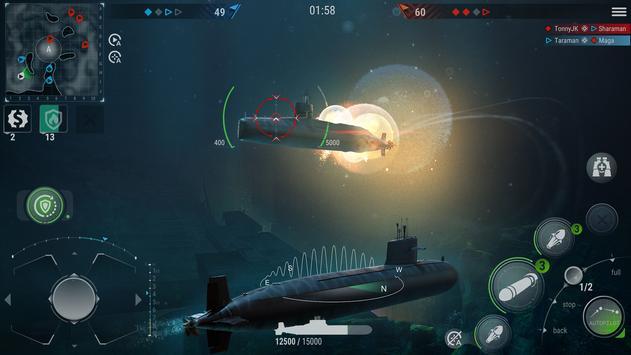 WORLD of SUBMARINES: Navy PvP ảnh chụp màn hình 1