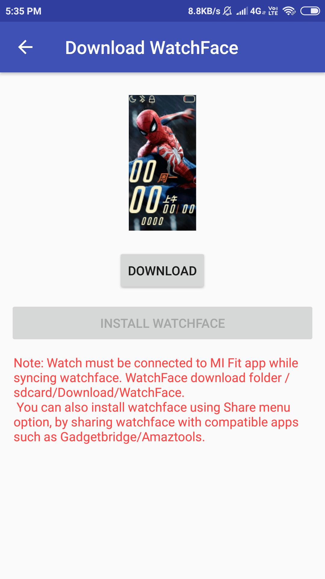 Watchfaces for Mi Band 4 for Android - APK Download