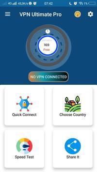 Vpn Ultimate Pro screenshot 1