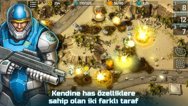 Art Of War 3:PvP RTS Gerçek Zamanlı Strateji Ekran Görüntüsü 11