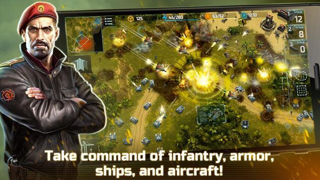 战争艺术3:全球冲突 - 在线实时战略战争游戏 海报