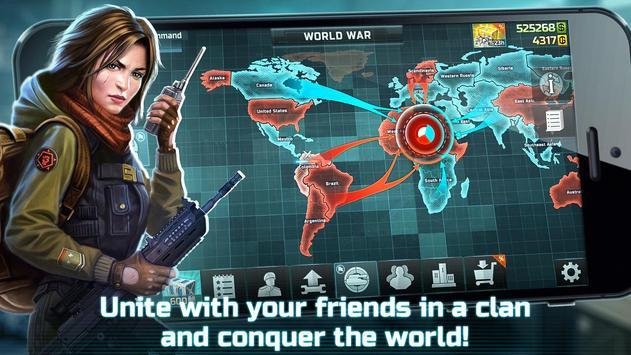 战争艺术3:全球冲突 - 在线实时战略战争游戏 截图 13