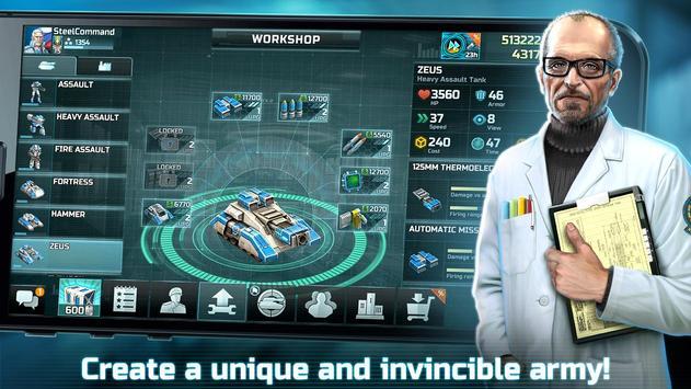 战争艺术3:全球冲突 - 在线实时战略战争游戏 截图 3