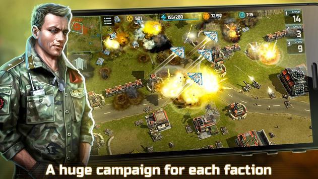 战争艺术3:全球冲突 - 在线实时战略战争游戏 截图 4