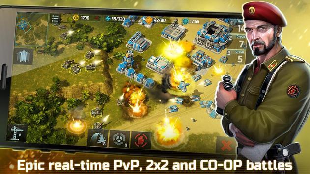 战争艺术3:全球冲突 - 在线实时战略战争游戏 截图 5