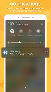 GeekBuying captura de pantalla 3