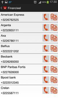 Nuttige Telefoonnummers screenshot 3