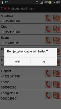 Nuttige Telefoonnummers screenshot 4