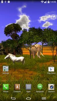 African Savanna poster